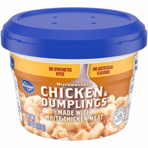 Kroger® Microwavable Chicken & Dumplings Perspective: front