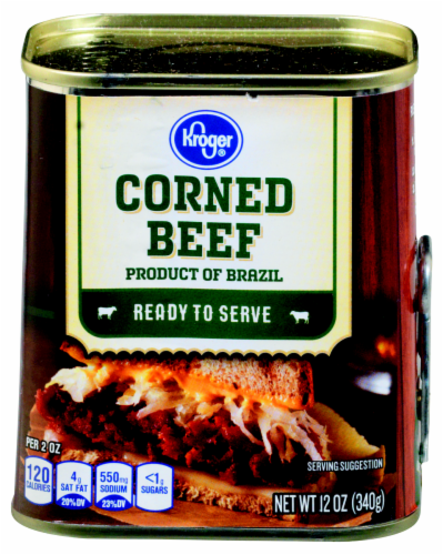 Kroger® Corned Beef Perspective: front