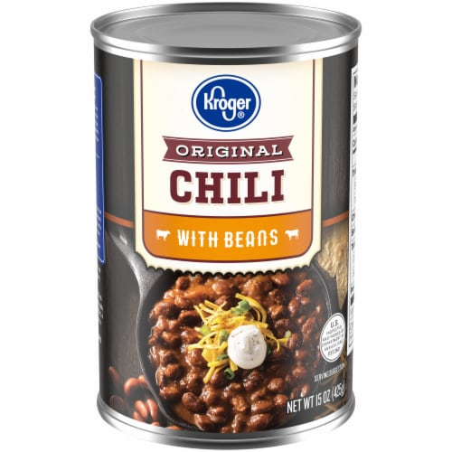 Kroger® Original Chili with Beans Perspective: front