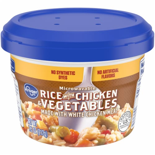Kroger® Rice with Chicken & Vegetables Perspective: front