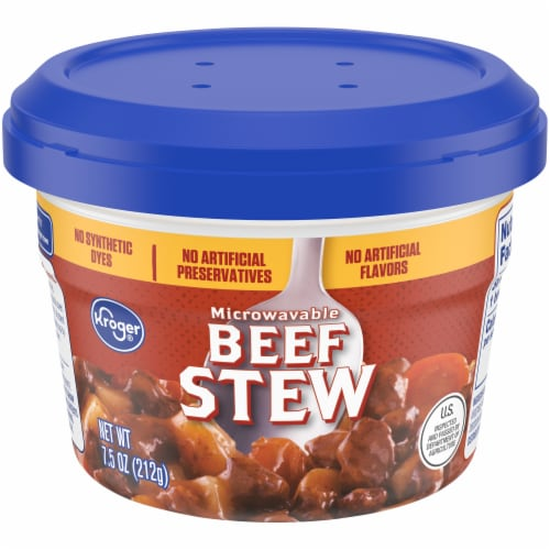Kroger® Microwaveable Beef Stew Cup Perspective: front