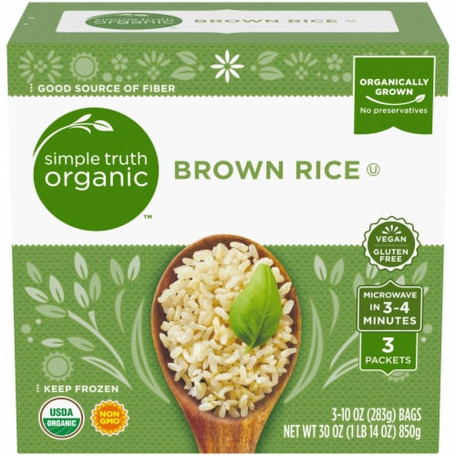 Simple Truth Organic™ Brown Rice Perspective: front