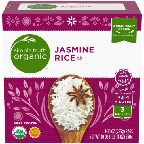 Simple Truth Organic™ Jasmine Rice Packets Perspective: front