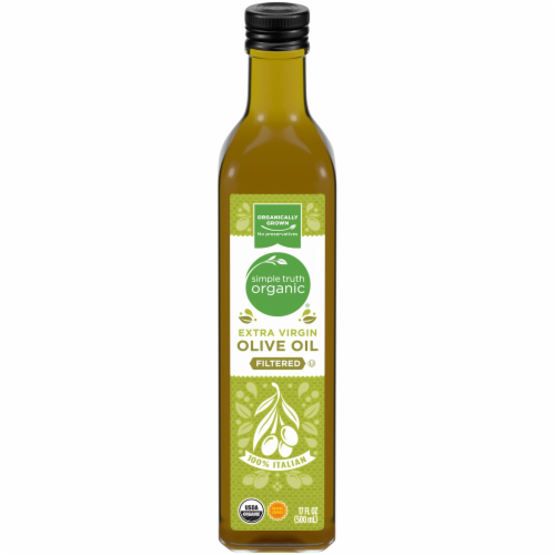 Simple Truth Organic™ Filtered Extra Virgin Olive Oil Perspective: front