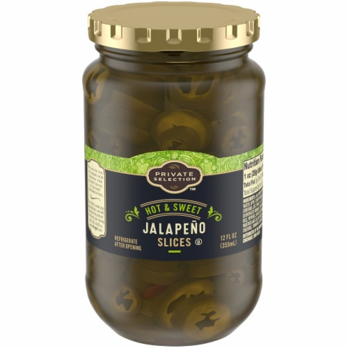 Private Selection™ Hot & Sweet Jalapeno Slices Perspective: front