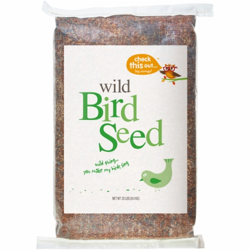 Check This Out™ Wild Bird Seed Perspective: front