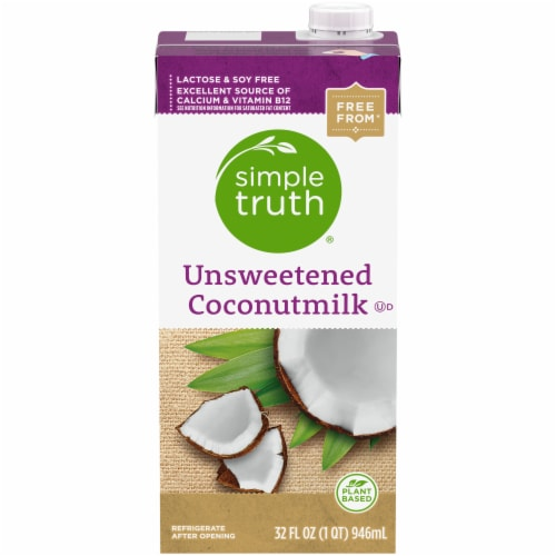 Simple Truth® Unsweetened Coconut Milk Perspective: front