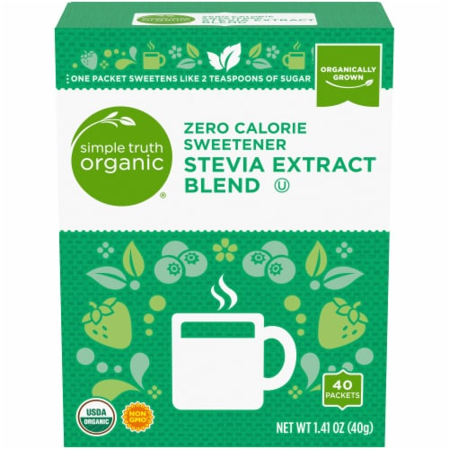 Simple Truth Organic™ Stevia Extract Blend Zero Calorie Sweetener Perspective: front