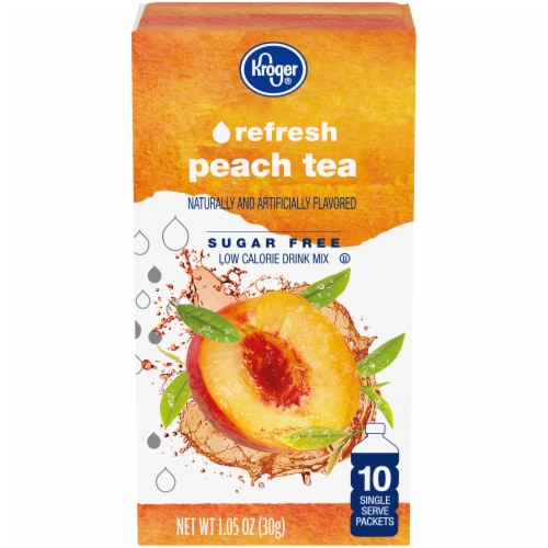 Kroger® Peach Tea Drink Mix Perspective: front