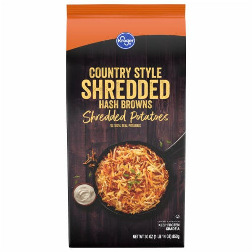 Kroger® Country Style Hash Browns Perspective: front