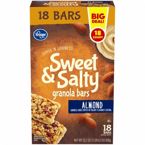 Kroger® Sweet & Salty Almond Granola Bars Perspective: front