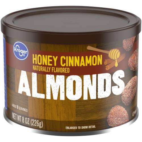 Kroger® Honey Cinnamon Almonds Perspective: front