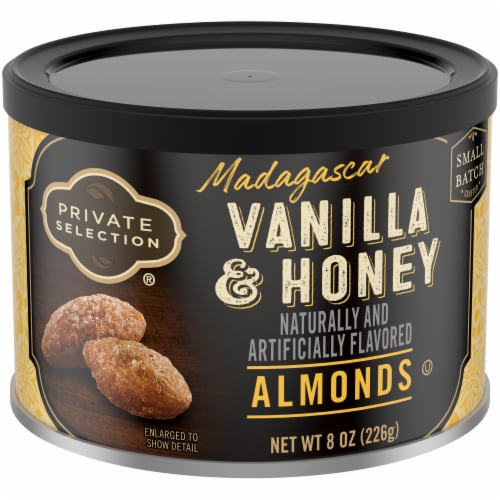 Private Selection™ Madagascar Vanilla & Honey Almonds Perspective: front