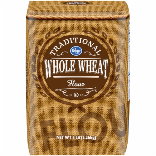 Kroger® Traditional Whole Wheat Flour Perspective: front
