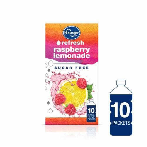 Kroger® Refresh Raspberry Lemonade Drink Mix Perspective: front