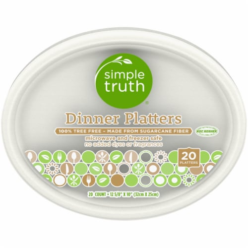 Simple Truth® Dinner Platters Perspective: front