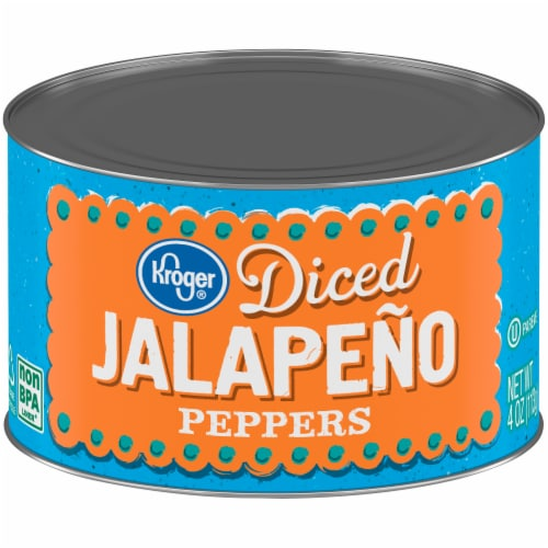 Kroger® Diced Jalapeno Peppers Perspective: front