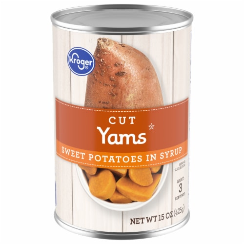 Kroger®  Cut Yams in Syrup Perspective: front