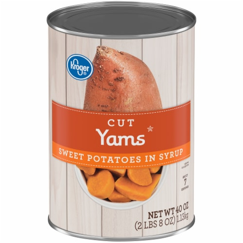 Kroger® Cut Sweet Potato Yams in Syrup Perspective: front