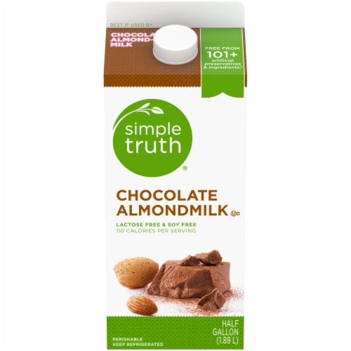 Simple Truth® Chocolate Almondmilk Perspective: front