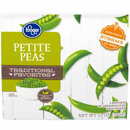 Kroger® Traditional Favorites Petite Peas Perspective: front