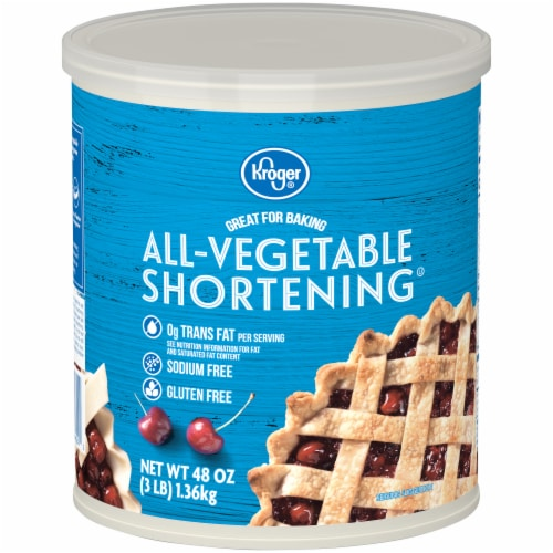 Kroger® All-Vegetable Shortening Perspective: front