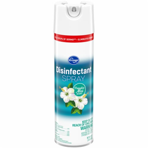 Kroger® Paradise Mist Disinfectant Spray Can Perspective: front