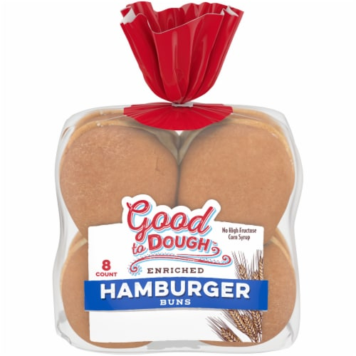 Good to Dough™ Hamburger Buns Perspective: front