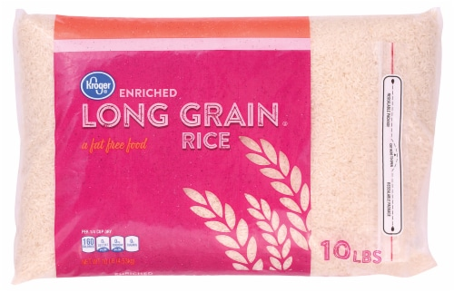 Kroger® Long Grain Rice Perspective: front