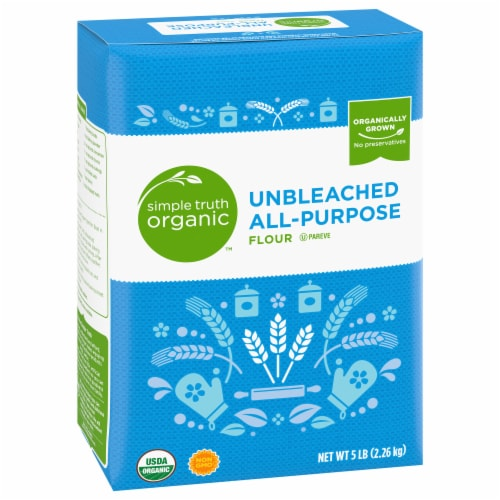 Simple Truth Organic™ Unbleached All-Purpose Flour Perspective: front