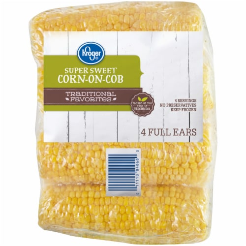 Kroger® Corn on the Cob Perspective: front