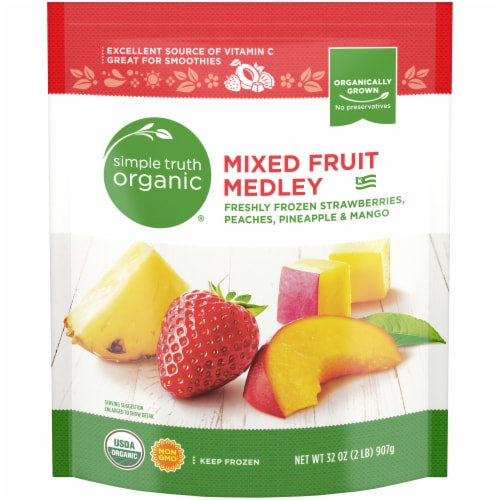 Simple Truth Organic® Frozen Mixed Fruit Medley Perspective: front