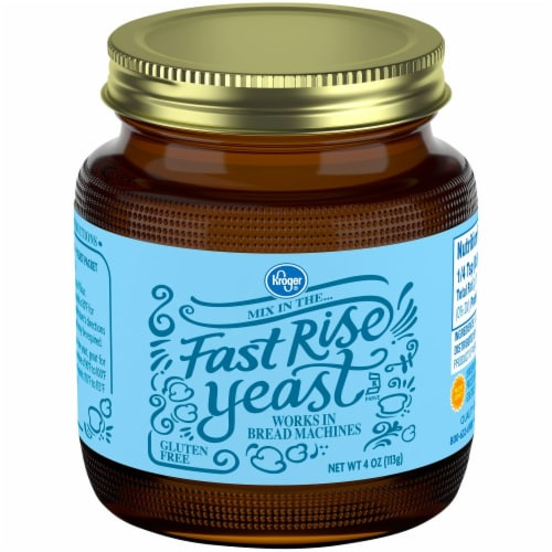 Kroger® Fast Rise Yeast Perspective: front