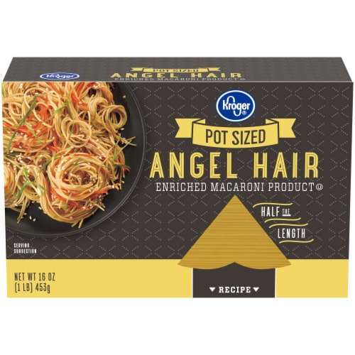 Kroger® Pot Ready Angel Hair Pasta Perspective: front