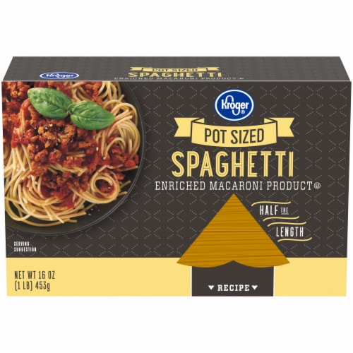 Kroger® Pot Size Spaghetti Perspective: front