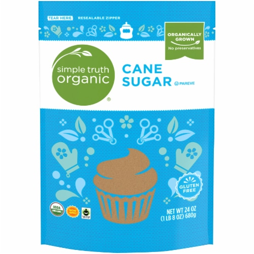 Simple Truth Organic® Cane Sugar Perspective: front