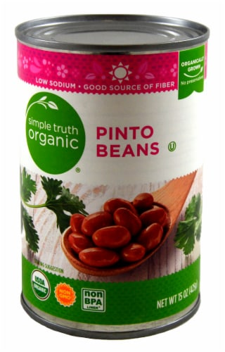 Simple Truth Organic® Pinto Beans Perspective: front