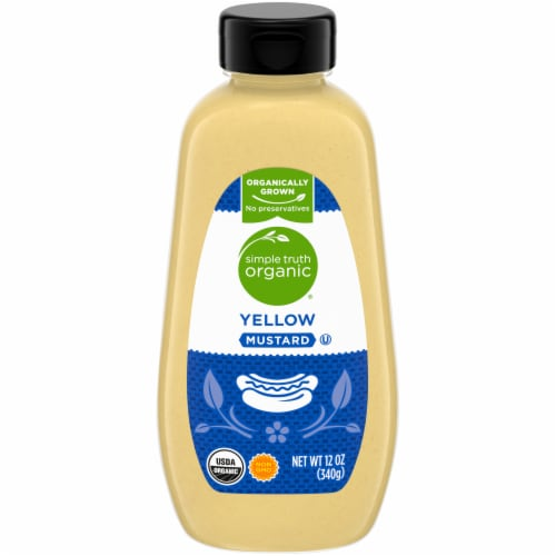 Simple Truth Organic® Yellow Mustard Perspective: front