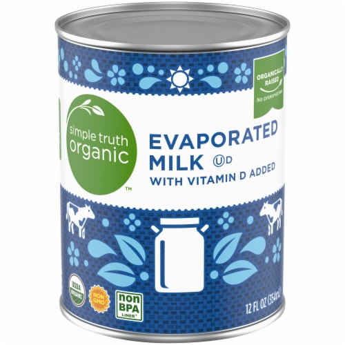 Simple Truth Organic™ Evaporated Milk with Vitamin D Perspective: front