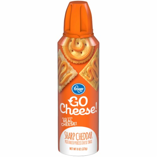 Kroger® Go Cheese! Sharp Cheddar Cheese Snack Perspective: front