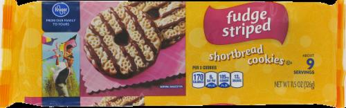 Kroger® Fudge Striped Shortbread Cookies Perspective: front