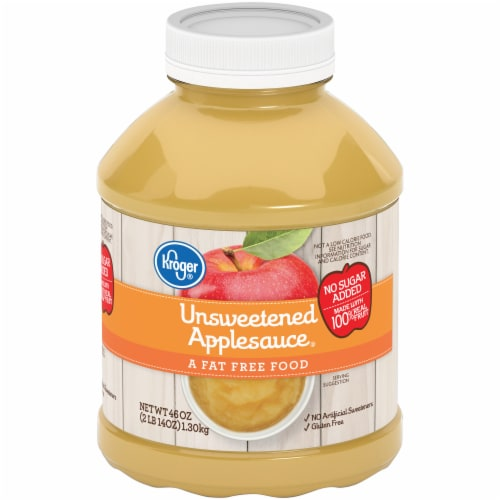Kroger® Unsweetened Applesauce Perspective: front