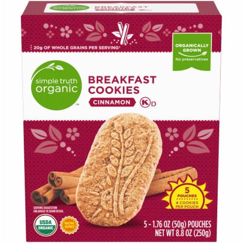 Simple Truth Organic™ Cinnamon Breakfast Cookies Perspective: front