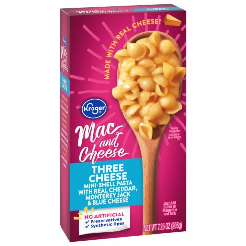 Kroger® Three Cheese Macaroni & Cheese Perspective: front