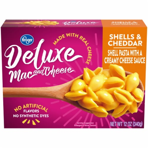 Kroger® Deluxe Shells & Cheddar Mac & Cheese Perspective: front