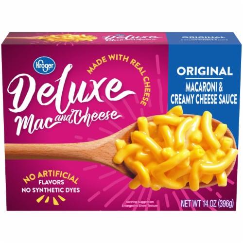 Kroger® Deluxe Original Macaroni & Cheese Perspective: front