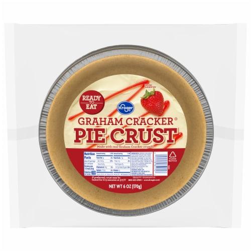 Kroger® Graham Cracker Pie Crust Perspective: front