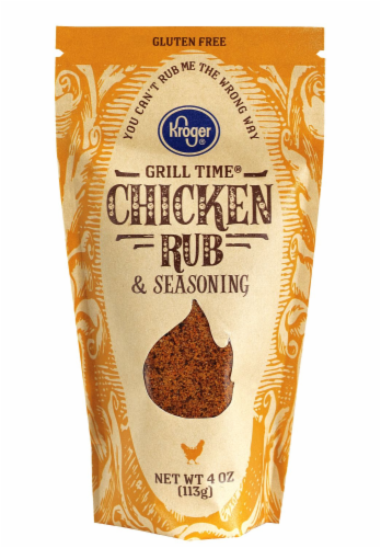 Kroger® Grill Time® Chicken Rub & Seasoning Perspective: front