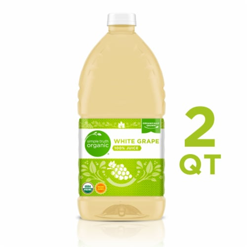 Simple Truth Organic™ White Grape 100% Juice Perspective: front