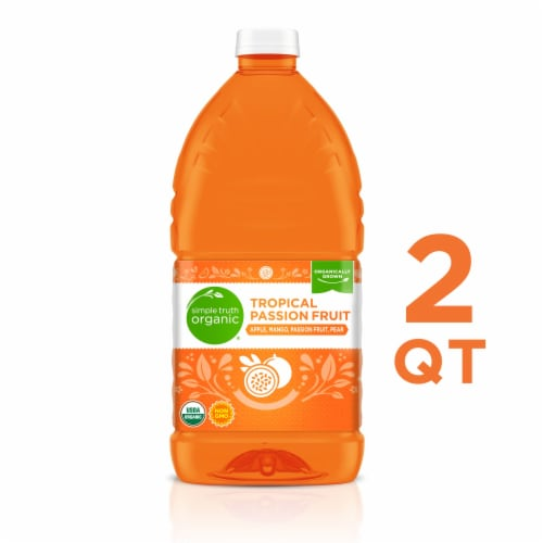 Simple Truth Organic® Tropical Passion Fruit Flavored Juice Blend Perspective: front
